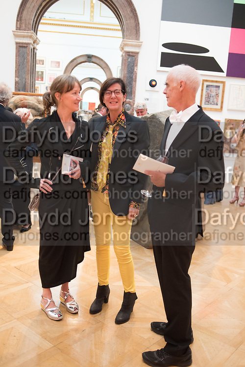 FIONA RAE, FIONA BANNER, RICHARD LONG,, 2019 Royal Academy Annual dinner, Piccadilly, London.  3 June 2019