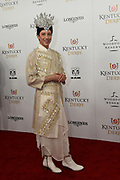 Johnny Weir, American Olympic figure skater and TV commentator, walks the Kentucky Derby red carpet, Saturday, May 5, 2018, at Churchill Downs in Louisville, Ky.  Longines, the Swiss watch manufacturer known for its luxury timepieces, is the Official Watch and Timekeeper of the 144th annual Kentucky Derby. (Photo by Diane Bondareff/Invision for Longines/AP Images)