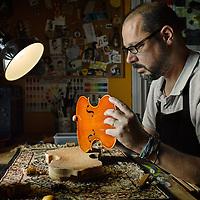 Custom string instrument restorer and creator Erik Grausam