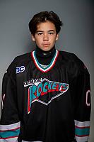 KELOWNA, BC - OCTOBER 3:  Okanagan Central Zone Bantam AA hockey at Rutland East Arena on October 3, 2019 in Kelowna, Canada. (Photo by Marissa Baecker/Shoot the Breeze)