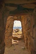 This Aymara temple is on Isla de la Luna (legendary home of the Inca goddess Mama Quila), Lake Titicaca, Bolivia.