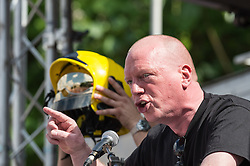 Matt Wrack FBU general secretary, People's Assembly demonstration against Austerity, London, 21st June 2014