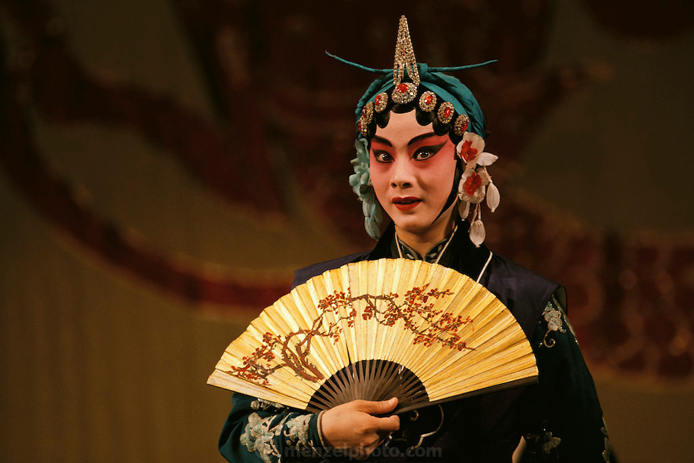 Peking Opera actor. Beijing, China.
