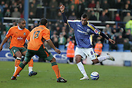 Coca Cola championship,Cardiff city v Plymouth Argyle at Ninian Park in Cardiff on Sunday 28th December 2008. pic by Andrew Orchard, Andrew Orchard sports photography. Jay Bothroyd of Cardiff City.