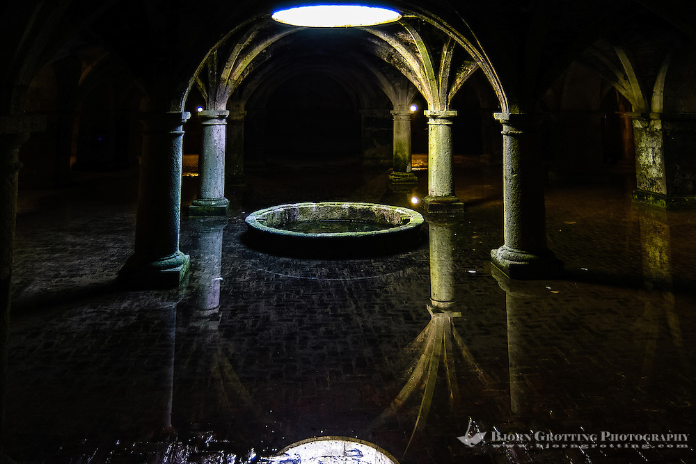 Portuguese cistern El Jadida in Morocco.
