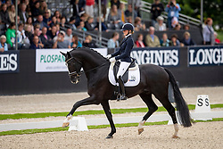 Van Der Putten Marieke, NED, Jameson RS2<br /> World Championship Young Dressage Horses - Ermelo 2019<br /> © Hippo Foto - Dirk Caremans<br /> Van Der Putten Marieke, NED, Jameson RS2