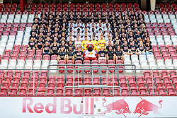 05.07.2017, Red Bull Arena, Salzburg, AUT, 1. FBL, FC Red Bull Salzburg, Fototermin, im Bild Teamfoto mit Mitarbeitern // during the official Team and Portrait Photoshooting of Austrian Bundesliga Club FC Red Bull Salzburg at the Red Bull Arena in Salzburg, Austria on 2017/07/05. EXPA Pictures © 2017, PhotoCredit: EXPA/ Johann Groder