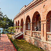 Brick archways of the Former British Consulate residence, Kaohsiung City, Taiwan