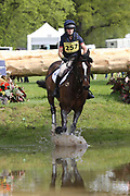 Indiana Limpus on Bronze Dandylion during the International Horse Trials at Chatsworth, Bakewell, United Kingdom on 13 May 2018. Picture by George Franks.