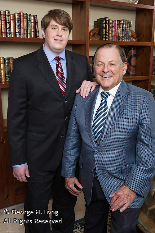 Chad and Gerald Simon of Simon & Simon Financial at their office in Covington, Louisiana