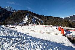 The course and jumping hills during 1.2 km Sprint Classic race at FIS Cross Country World Cup Planica 2016, on January 20, 2018 at Planica, Slovenia. Photo By Morgan Kristan / Sportida