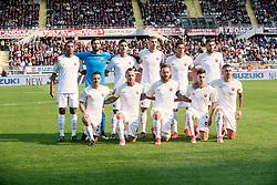 October 22, 2017 - Turin, Piemonte/Torino, Italy - AS Roma team and Daniele De Rossi posed before the Serie A match Torino FC vs Roma. Roma wins 0-1. Turin, 22th october 2017 Italy (Credit Image: © Albertogandolfo/Pacific Press via ZUMA Wire)