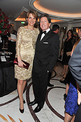 JOHN & LADY CAROLYN WARREN at the 22nd Cartier Racing Awards held at The Dorchester, Park Lane, London on 13th November 2012.