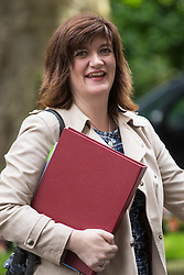 Downing Street, London, June 14th 2016. Education Secretary Nicky Morgan leaves  10 Downing Street after attending the weekly cabinet meeting.