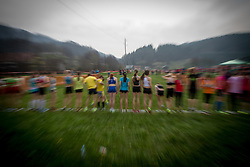 at Slovenian Cross Country Championships in Sentjur, Slovenia on March 15, 2014. (Photo by Peter Kastelic / Sportida.com)