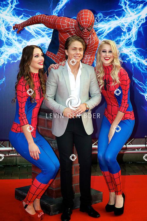 AMSTERDAM - Bij het Pathe ArenA Theater is de filmpremière van Spiderman II gehouden. Met hier op de foto  André Hazes jr. ook wel bekend als Dré of Dreetje Hazes. FOTO LEVIN DEN BOER - PERSFOTO.NU