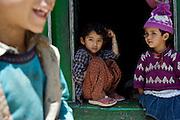 School children in Sunam Village, Himachal Pradesh, India