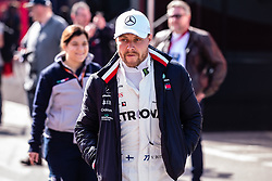 February 21, 2019 - Montmelo, BARCELONA, Spain - Valtteri Bottas fo Finland with 77 of Mercedes AMG Petronas Motorsport W10 portrait during the Formula 1 2019 Pre-Season Tests at Circuit de Barcelona - Catalunya in Montmelo, Spain on February 21. (Credit Image: © AFP7 via ZUMA Wire)