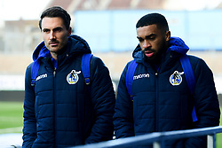 Alex Rodman of Bristol Rovers and Tareiq Holmes-Dennis of Bristol Rovers arrives at Memorial Stadium prior to kick off - Mandatory by-line: Ryan Hiscott/JMP - 01/12/2019 - FOOTBALL - Memorial Stadium - Bristol, England - Bristol Rovers v Plymouth Argyle - Emirates FA Cup second round