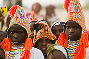 Fulani boys in village outside Aguie, Niger on Friday April 17, 2009.