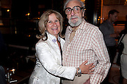 BARONESS HELENA KENNEDY; DES RAYNER, Massimo's restaurant at the Corinthia Hotel, Whitehall  host the after party  for 'Claire Rayner's benefit show' 5 June 2011. <br /> <br />  , -DO NOT ARCHIVE-© Copyright Photograph by Dafydd Jones. 248 Clapham Rd. London SW9 0PZ. Tel 0207 820 0771. www.dafjones.com.