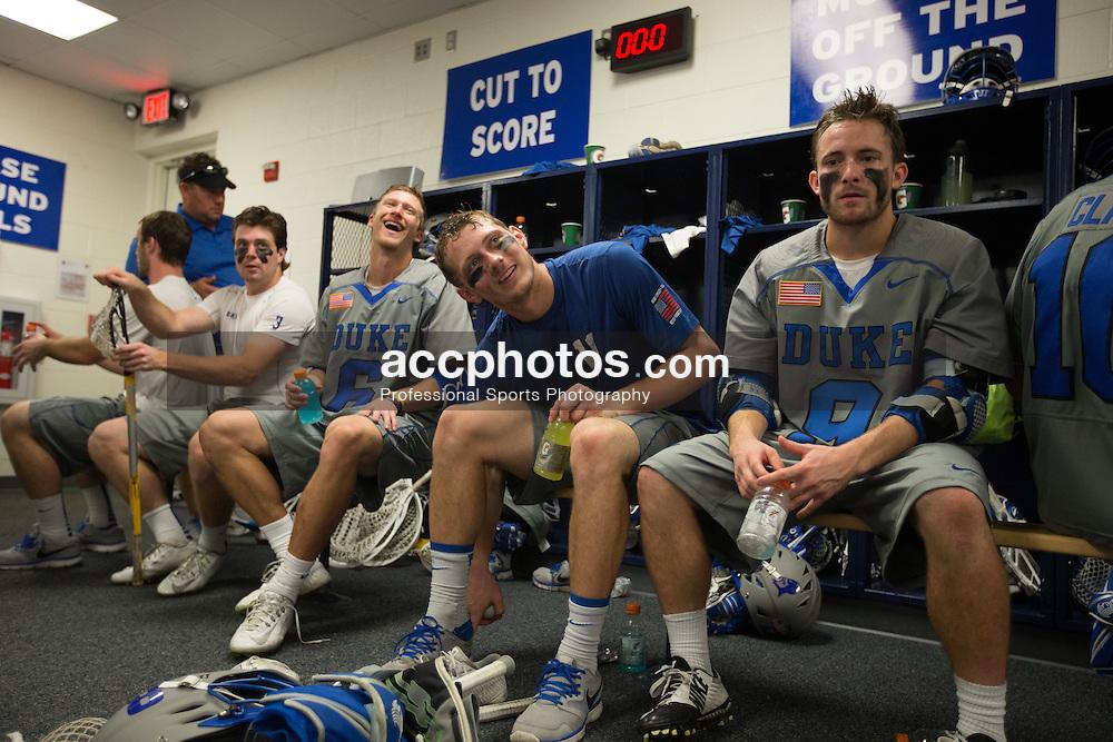 DURHAM, NC - MAY 03: Jack Bruckner #8 of the Duke Blue Devils on May 03, 2015 at Koskinen Stadium in Durham, North Carolina. Duke won 13-7. (Photo by Peyton Williams/Getty Images)