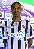 Ibrahima BA - 17.09.2013 - Photo Officielle Istres - Ligue 2<br /> Photo : Icon Sport