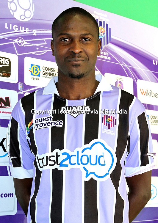 Ibrahima BA - 17.09.2013 - Photo Officielle Istres - Ligue 2<br /> Photo : Icon Sport