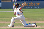 Kraigg Brathwaite batting during the Specsavers County Champ Div 2 match between Glamorgan County Cricket Club and Leicestershire County Cricket Club at the SWALEC Stadium, Cardiff, United Kingdom on 18 September 2019.