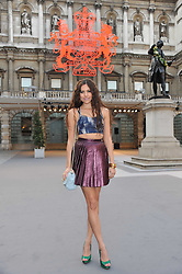 ELIZA DOOLITTLE at the Royal Academy of Arts Summer Exhibition Preview Party at Burlington House, Piccadilly, London on 2nd June 2011.