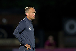 LONDON, ENGLAND - Friday, August 25, 2017: Liverpool's U23's Manager Neil Critchley during the Under-23 FA Premier League 2 Division 1 match between Arsenal and Liverpool at Meadow Park. (Pic by Paul Greenwood/Propaganda)