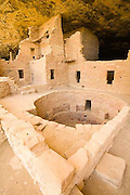Spruce Tree House, Mesa Verde National Park, kiva