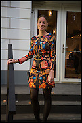REBECCA DAVIES at the preview of LAPADA Art and Antiques Fair. Berkeley Sq. London. 23 September 2014.