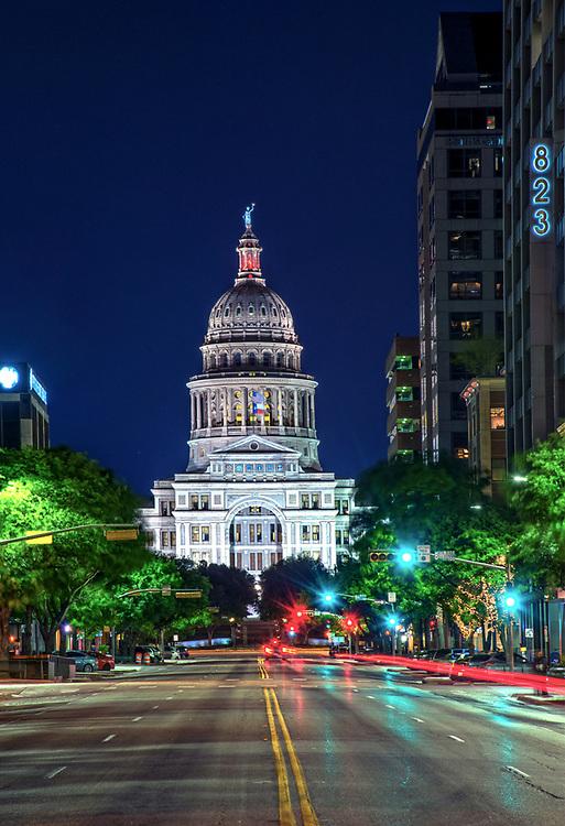 Austin, State Capitol Building, Congress Avenue