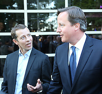 The Prime Minister, David Cameron joined the BPI for its 40th Birthday celebrations at Kensington Roof Garden, London, Wednesday 5 June, 2013