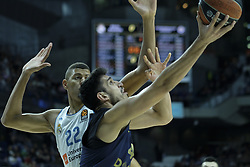 March 2, 2018 - Madrid, Madrid, Spain - DUVERIOGLU  AHMET of Fenerbahce Dogus in action  during the Turkish Airlines Euroleague basketball match between Real Madrid and Fenerbahce Dogus at the Wizink Center in Madrid, Spain on March 2, 2018. Photo: Oscar Gonzalez/NurPhoto  (Credit Image: © Oscar Gonzalez/NurPhoto via ZUMA Press)