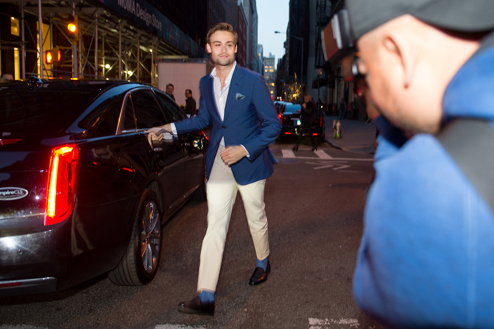 Douglas Booth at Chanel's Tribeca Film Festival Dinner 2018