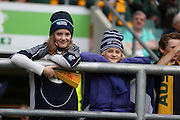 Young Scottish fans during the Rugby World Cup Quarter Final match between Australia and Scotland at Twickenham, Richmond, United Kingdom on 18 October 2015. Photo by Matthew Redman.