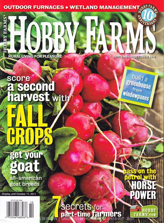 Hobby Farms magazine cover September/October 2011