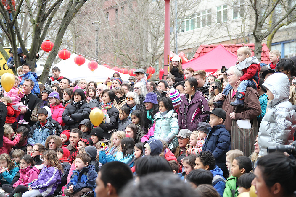 Seattle Chinatown International District Lunar New Year.