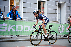 Audrey Cordon-Ragot (FRA) at UCI Road World Championships 2018 - Elite Women's Road Race, a 156.2 km road race in Innsbruck, Austria on September 29, 2018. Photo by Sean Robinson/velofocus.com