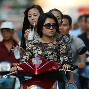 Vietnam has Asia's fastest growing economy behind China, and nothing shows this more than the proliferation of motoribkes on the streets of Hanoi and Ho Chi Minh City.
