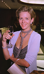 MRS JAMES OGILVY daughter in law of Princess Alexandra, at a party in London on 27th May 1999.MSO 23