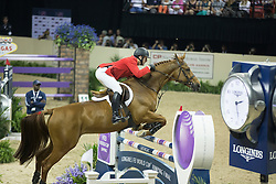 Ward Mclain, (USA), Rothchild <br />  Longines FEI World Cup™ Jumping Final Las Vegas 2015<br />  © Hippo Foto - Dirk Caremans<br /> Final III round 2 - 19/04/15