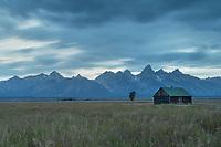 Cabin on Mormon Row, Grand Teton National Park Wyoming
