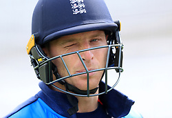 England's Jos Buttler during the nets session at Trent Bridge, Nottingham.