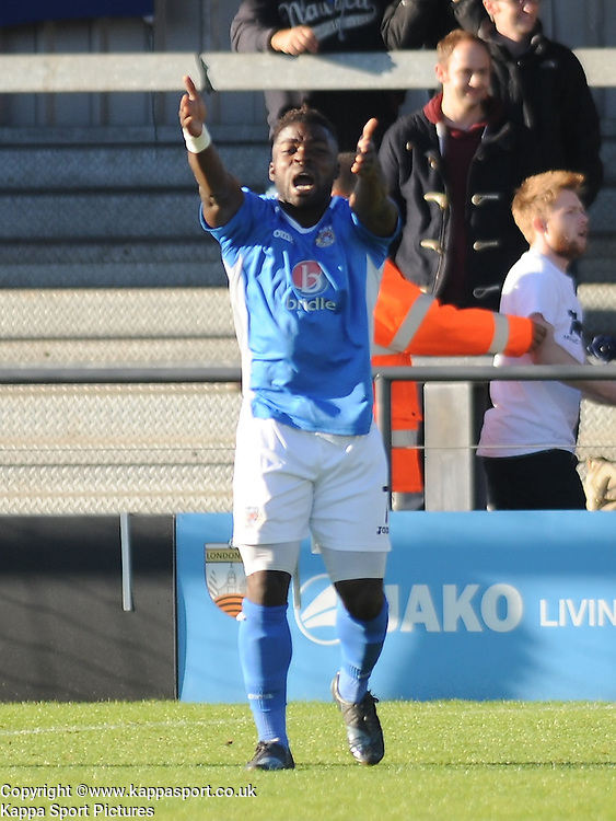 Yemi Odubade Eastleigh, Barnet v Eastleigh, Vanarama Conference, Saturday 4th October 2014