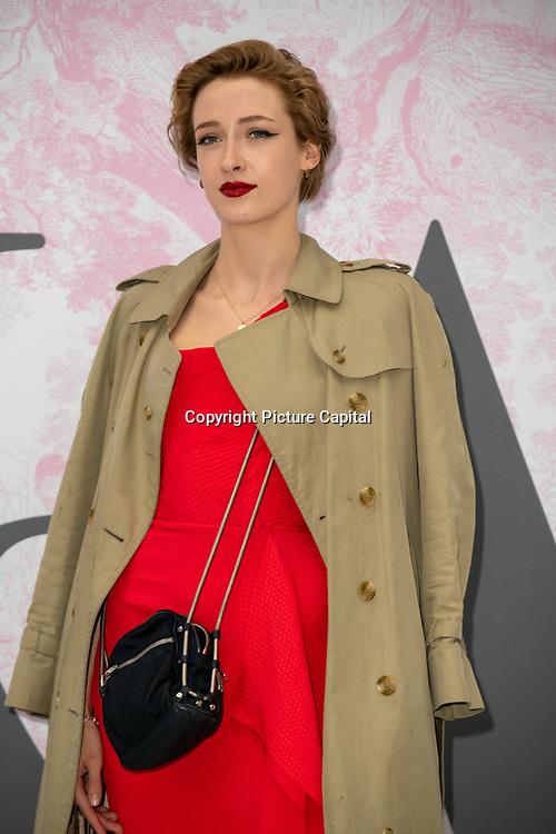 Georgia Howorth arrives at V&A - summer party, on 19 June 2019, London, UK