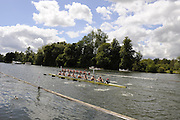 Henley, GREAT BRITAIN, Thames Challenge Cup, City of Oxford RC Buck and Molesey BC a crew Berks. 2008 Henley Royal Regatta, on  Wednesday, 02/07/2008,  Henley on Thames. ENGLAND. [Mandatory Credit:  Peter SPURRIER / Intersport Images] Rowing Courses, Henley Reach, Henley, ENGLAND . HRR