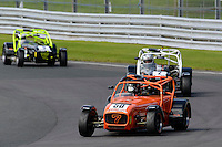 #50 David Briault Caterham Superlight R300-S during the BookaTrack.com Caterham Superlight R300 Championship at Oulton Park, Little Budworth, Cheshire, United Kingdom. August 13 2016. World Copyright Peter Taylor/PSP.